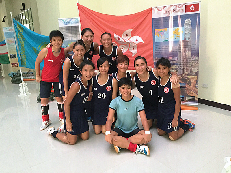Hong Kong Women's National Squad in Thailand