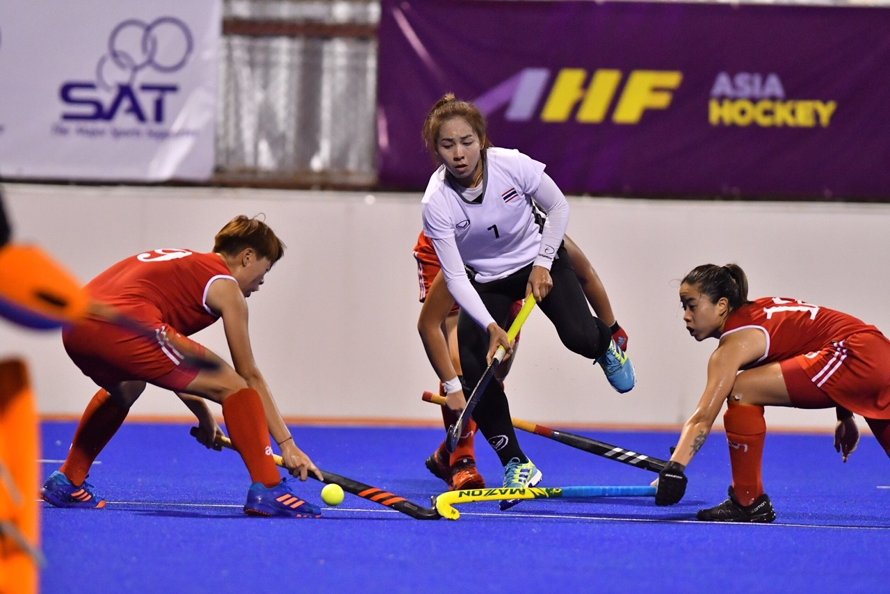 THA%20vs%20HKG 09 - Asian Games Qualifiers Hockey